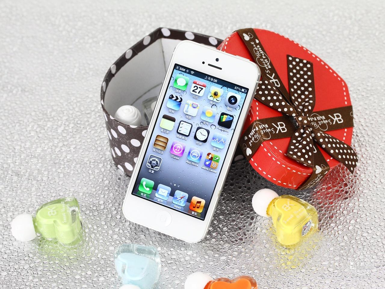 苹果iPhone5(32GB)整体外观第3张
