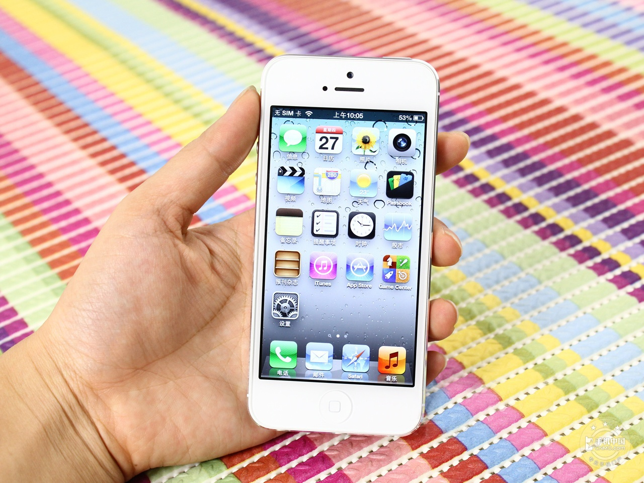 苹果iPhone5(32GB)整体外观第2张