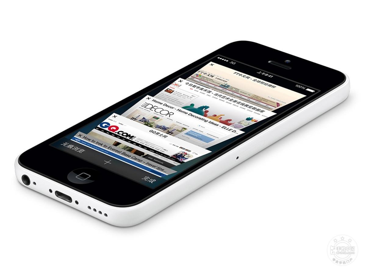 苹果iPhone5c(8GB)产品本身外观第8张