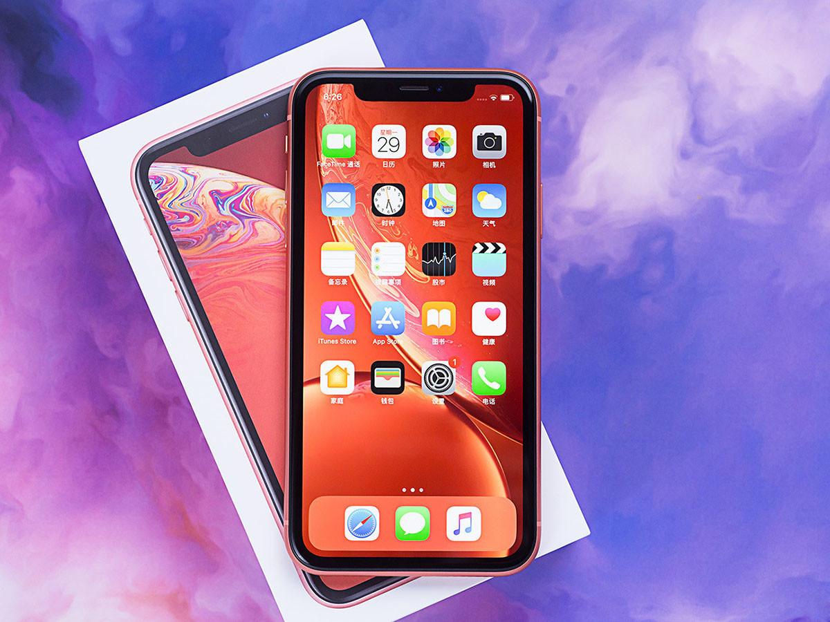 苹果iPhoneXR(128GB)整体外观第1张