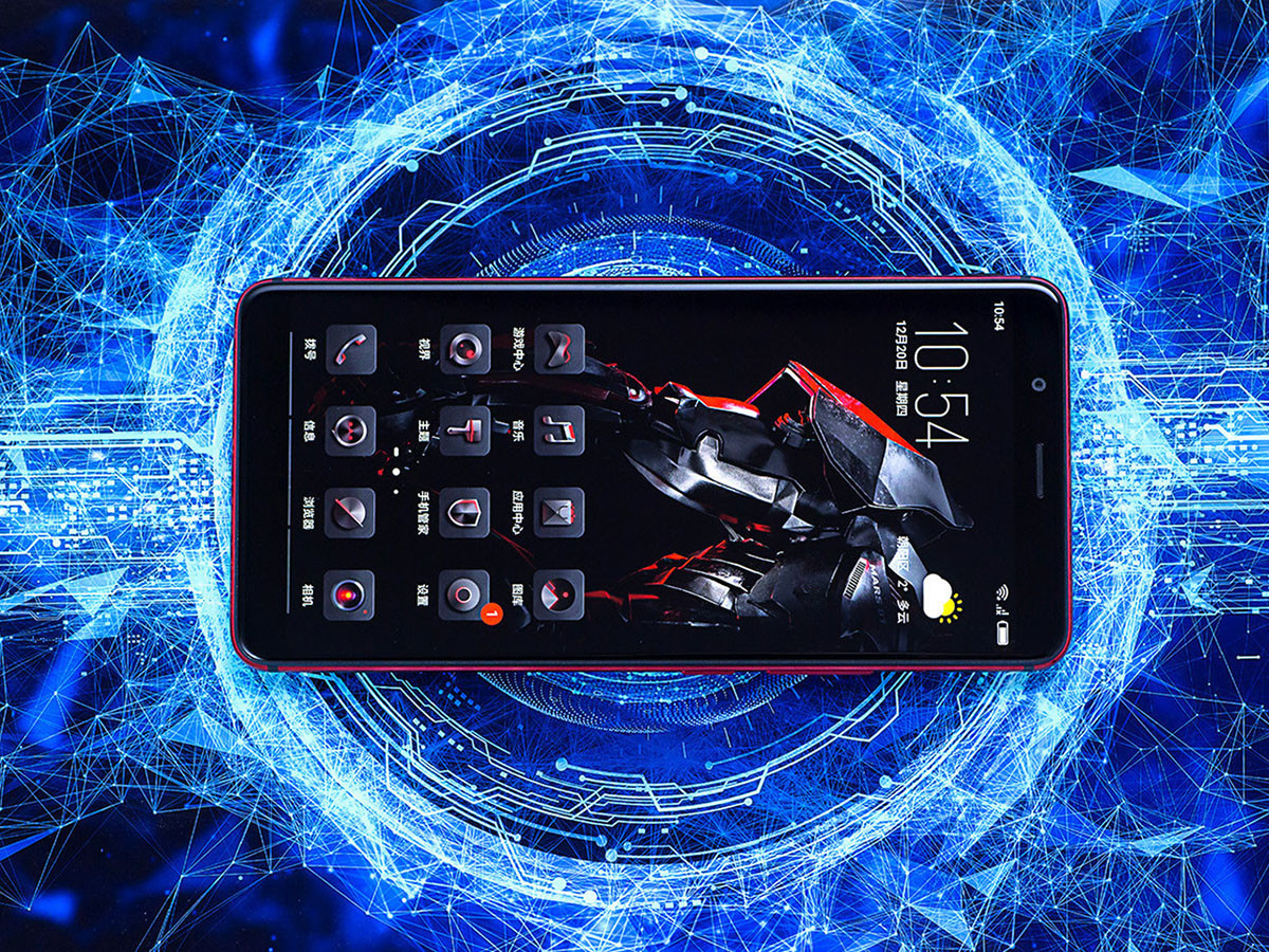 努比亚红魔Mars电竞手机(128GB)整体外观第2张