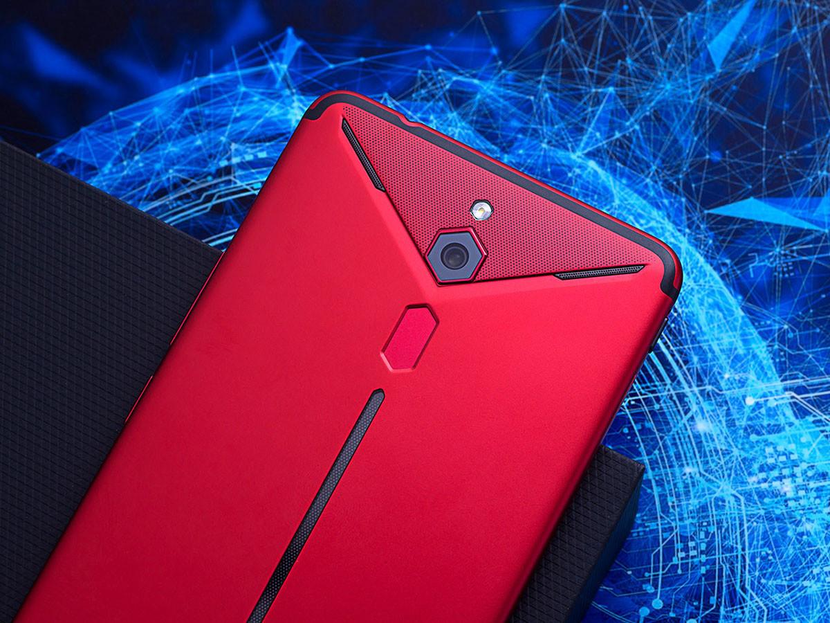 努比亚红魔Mars电竞手机(128GB)机身细节第3张