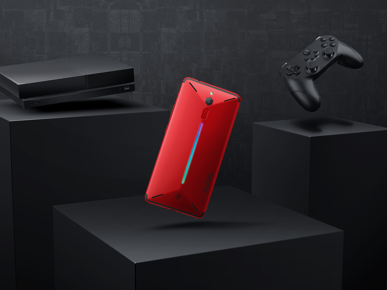 努比亚红魔电竞游戏手机(64GB)整体外观第6张