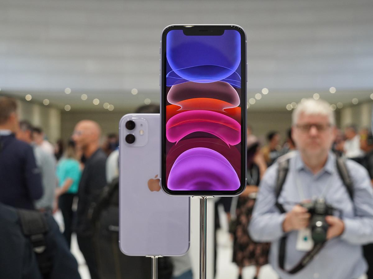苹果iPhone11(128GB)整体外观第8张